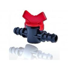 Кран для трубки 16 мм