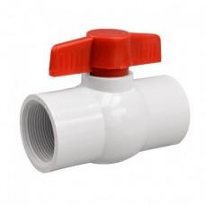 Кран шаровый PVC 1 внут x внут