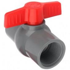 Кран шаровый PVC 2 внут x внут