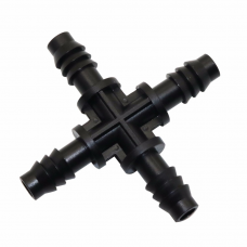 Соединитель крестовой 8мм (X фитинг)