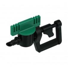Микроспринклер роторный с краном, радиус 4,2м, расход 122л/ч