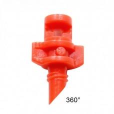 Форсунка 360гр. красная