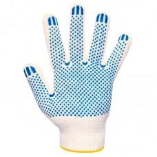 Перчатки х/б 5и-нитка с ПВХ (Точка) 10 кл.