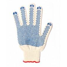 Перчатки х/б 4х-нитка без ПВХ (Точка) 10 кл.