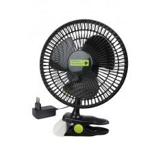 Вентилятор на прищепке Clip Fan 20см/12вт