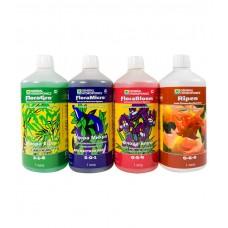 Комплект удобрений Flora Series HW + Ripen 4*1L