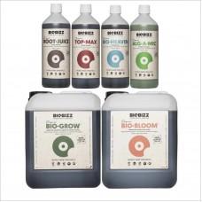 Комплект удобрения + стимуляторы BioBizz Set MAX+ 5L