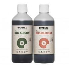 Комплект органических удобрений BioBizz Set 0.5L