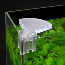 Аквариумный светодиодный светильник Aleas X2 LEDx8, 5W полупрозрачный