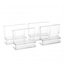 Комплект держателей верхнего стекла аквариума 4 шт