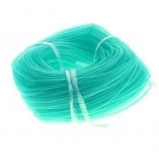 Трубка силиконовая в бухте зелёная 6*4