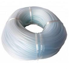 Трубка силиконовая в бухте прозрачная 6*4
