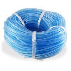 Шланг ПВХ в бухте 100м не перегибающийся D6/4 голубой