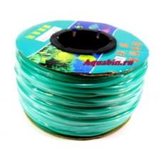 Трубка силиконовая на бабине зелёный  6*4 100м