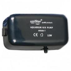 Компрессор одноканальный 1.5 л/м 2,5w uniStar AIR 2000-1 10-45l