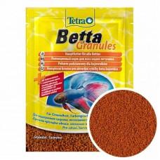 TetraBetta 5г корм для петушков и лабиринтовых в гранулах