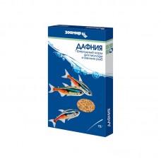 Корм Зоомир Дафния природный корм для всех видов мелких рыб 15 г