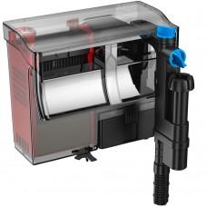 Фильтр водопад навесной био кассетный 800л/ч, скимер и стерилизатор UV5W