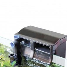 Фильтр водопад навесной био кассетный 500л/ч со скимером