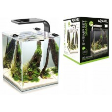 AQUAEL SHRIMP SET SMART PLANT ll 30 (белый), Креветкариум с LED освещением (6 вт)