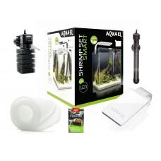 AQUAEL SHRIMP SET SMART PLANT ll 20 (чёрный), Креветкариум с LED освещением (6 вт)