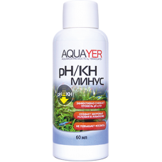 AQUAYER pH/KH минус, 60 mL