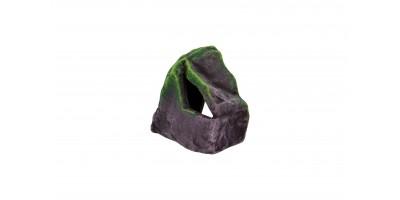 Камень обычный К65б (бордовый) 10,5*6*9,5см