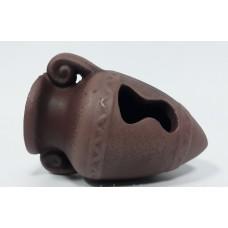 Амфорка К96к керамика (коричневый)10*7*7см