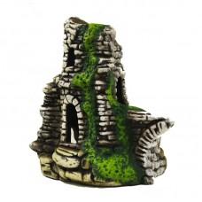 Башня с мостом С40 керамика (камень) 24*13*22см