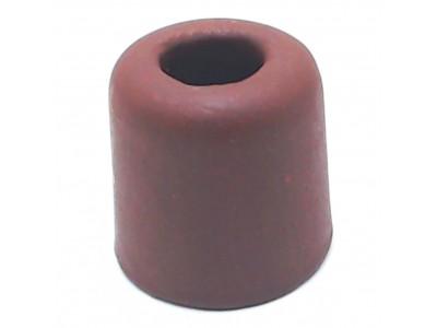 Трубка для креветок К33к керамика (коричневая) 4*3,9*3,9см