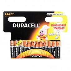 Батарейка Duracell AAA LR3 12шт в блистере