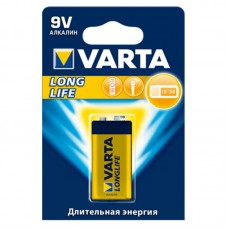 Батарейка Varta LongLife 9V 1шт блистер 4122 крона