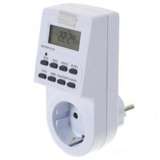 Таймер электронный 16А/3600 Вт (2А-RU)