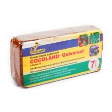 Субстрат кокосовый в брикетах Cocoland 7л Universal