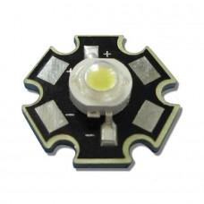 LED 3000k White 3Вт звезда