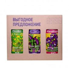 Минеральное удобрение комплект FloraSet HW 1L