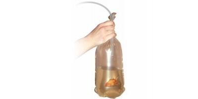 Пакеты для транспортировки рыб 220мм с резинкой