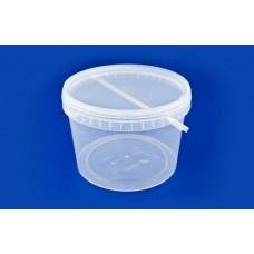 Ведро, пластик прозрачный пищёвой 5л