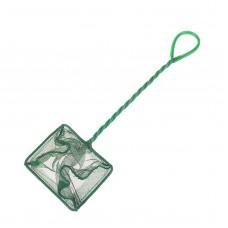 Сачок для рыб зелёный 10 см Aleas