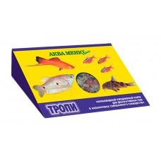 АКВА МЕНЮ Тропи хлопиевидный корм для рыб смешанного сообщества 11г