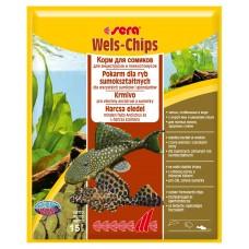 Sera wels chips 15г. корм для лорикариевых сомов, пластинки