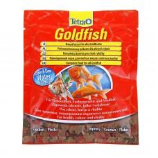 TetraGoldfish Food 12г пакетик - корм хлопья для всех видов золотых рыб