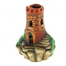 Башня на камнях К56 керамика 15*11*17см