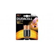 Батарейка Duracell AA LR6 2шт в блистере