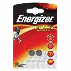 Батарейка Energizer Alkaline LR44/A76 1,5V 2 шт блистер