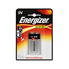 Батарейка Energizer MAX крона 1 шт блистер 9V-9B-6LR61