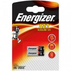 Батарейка Energizer A27 12V Alkaline 2шт.
