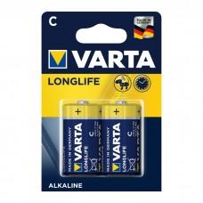 Батарейка Varta LongLife EXTRA C 2шт блистер 4114