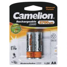 Батарейка Camelion Аккумуляторная R6 2700mAh упак 2шт