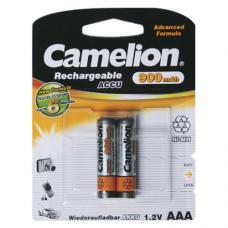Батарейка Camelion Аккумуляторная R03 900mAh упак 2шт